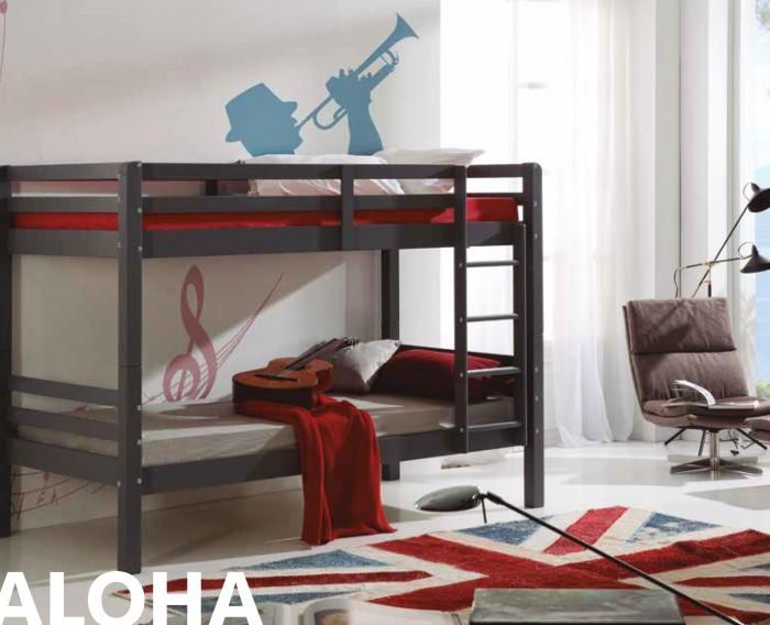 Litera sofa cama metalica doble muebles valencia for Literas juveniles modernas