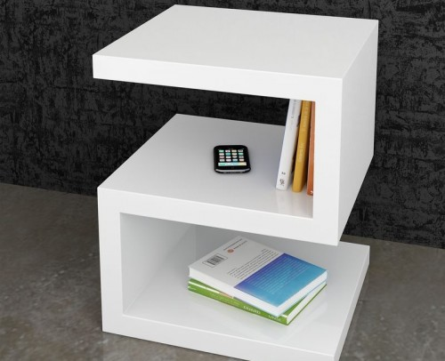 Mesas centro modernas gran variedad de dise os mobles - Mesas auxiliares modernas ...