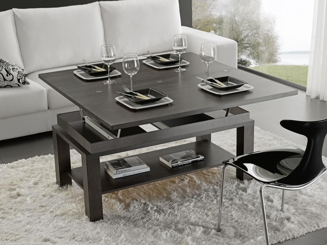Mesa centro comedor elevable - Centros mesa salon ...