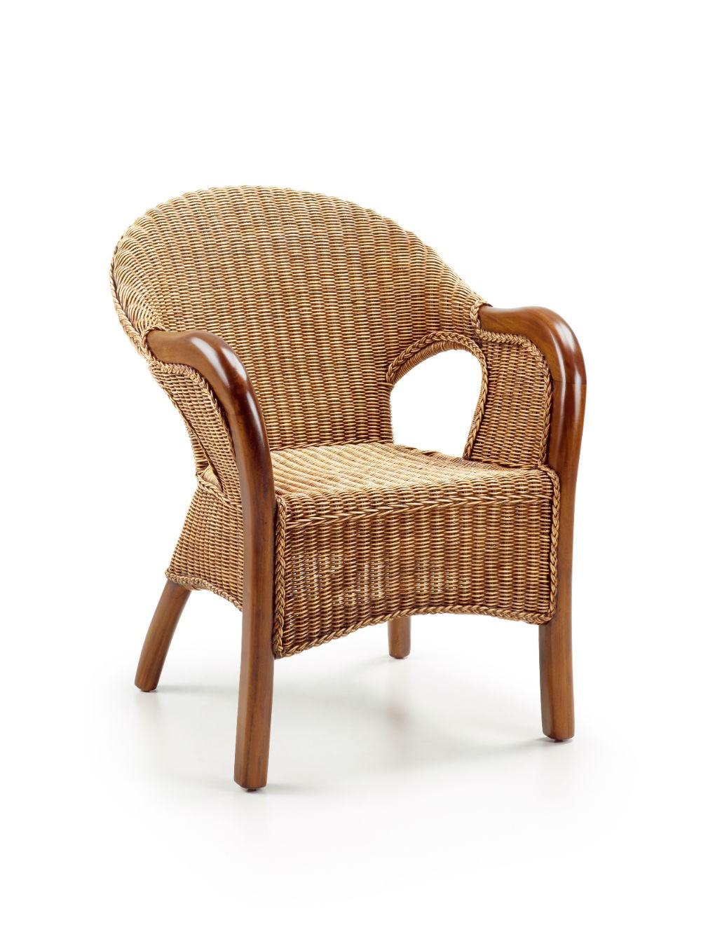 Silla moderna colonial clasica rattan 99 859001 mobles for Sillas clasicas modernas