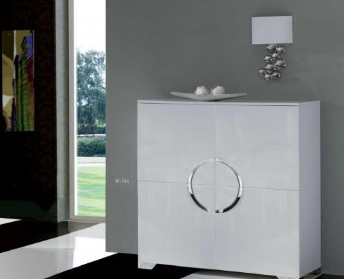 Aparadores buffet modernos mobles sedav - Aparador blanco brillo ...