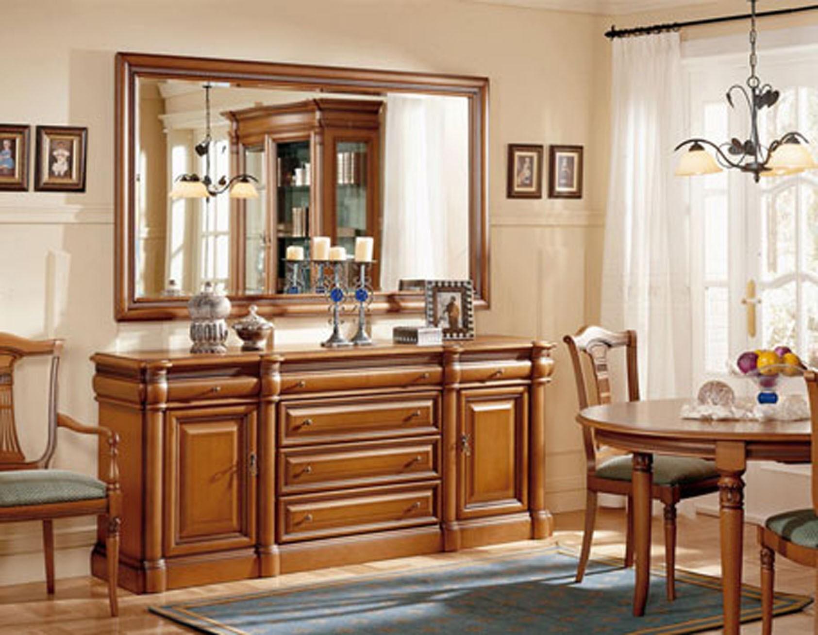 Mueble comedor clasico boisserie muebles valencia for Decoracion de salon comedor clasico