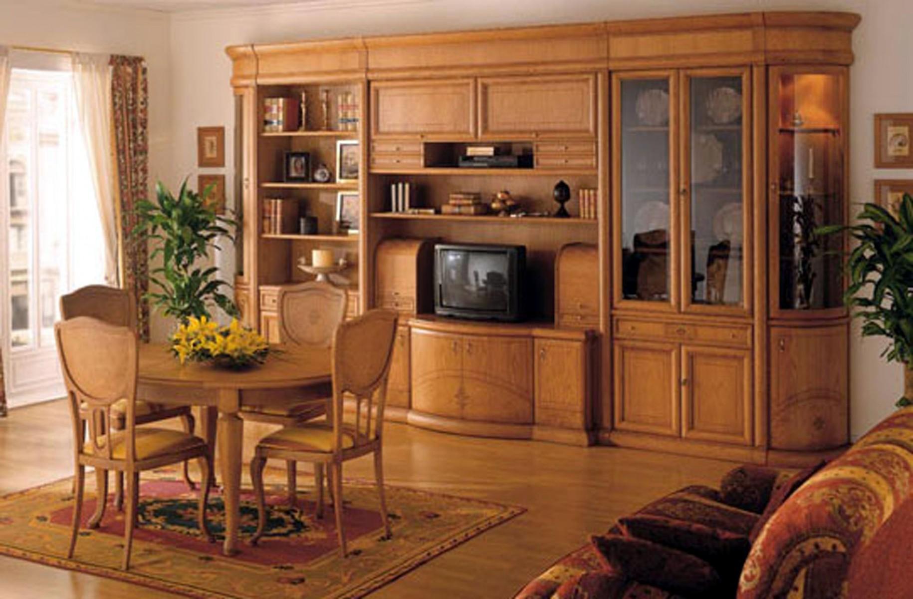 Mueble comedor clasico boisserie muebles valencia - Salon comedor clasico ...