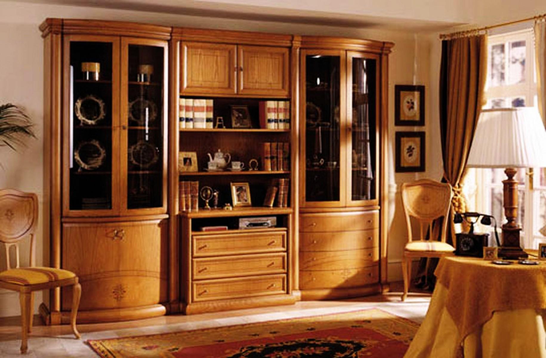 Mueble comedor clasico boisserie 13 07 comedores for Modernizar salon muebles clasicos