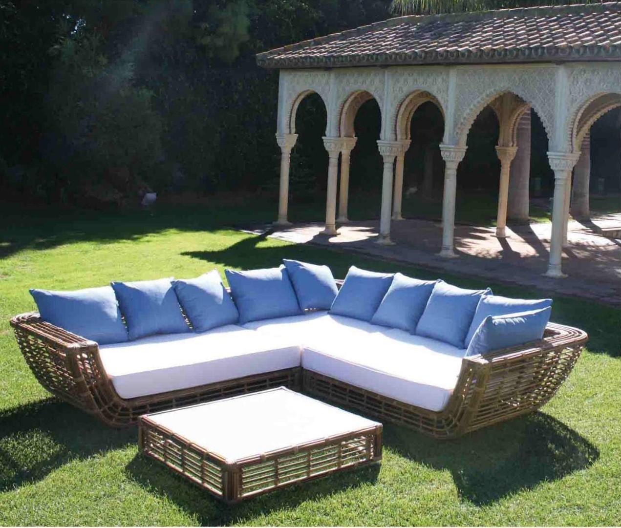 Set mueble terraza jardin piscina 1217 philipine for Set muebles jardin baratos