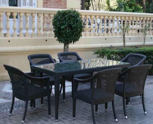 Conjuntos set mesa y sillas mobles sedav for Piscina sedavi