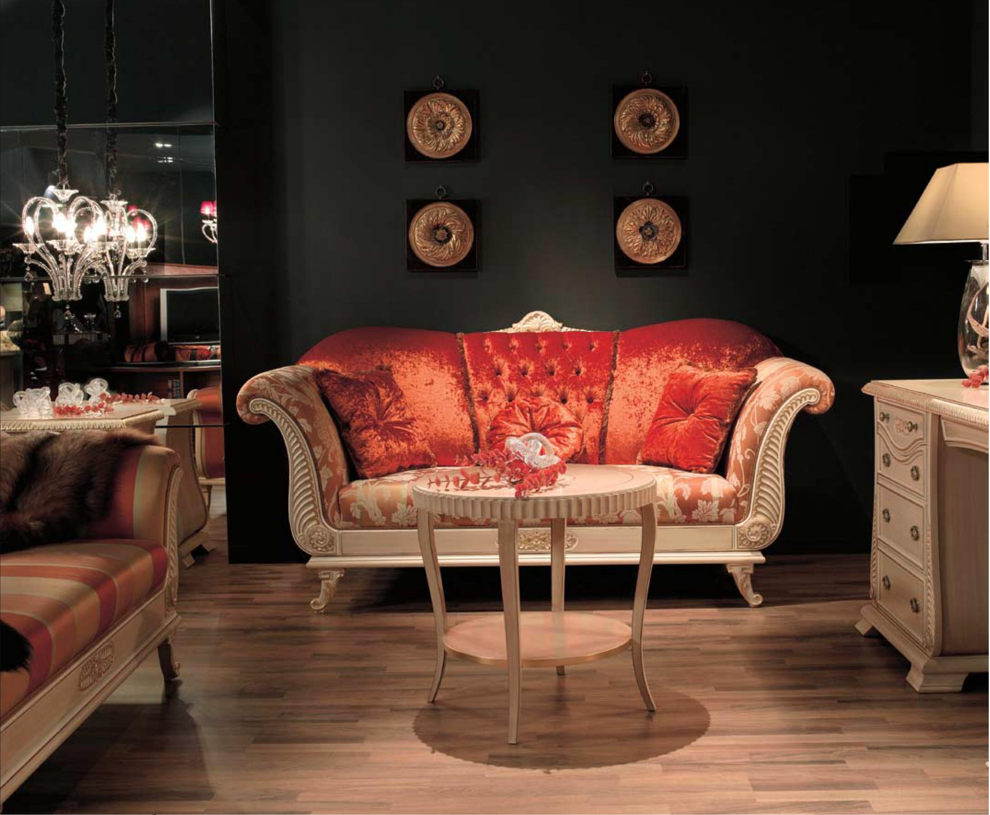 Sof gran calidad segun detalles varias medidas y gran for Tresillos clasicos estilo