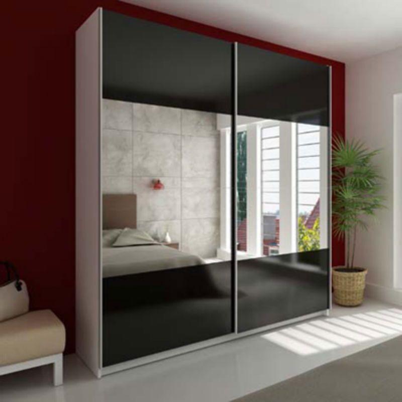Armario empotrado a medida sin obra muebles valencia - Espejos de bano con armario ...