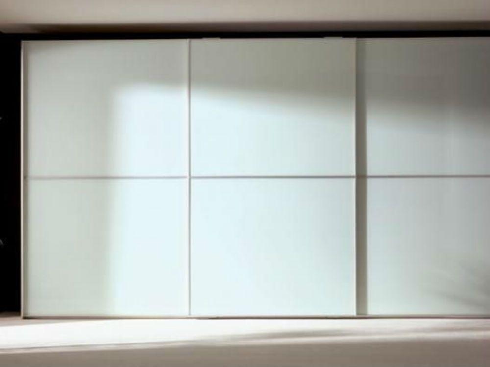 Armario empotrado a medida sin obra muebles valencia - Puertas correderas de cristal para armarios ...
