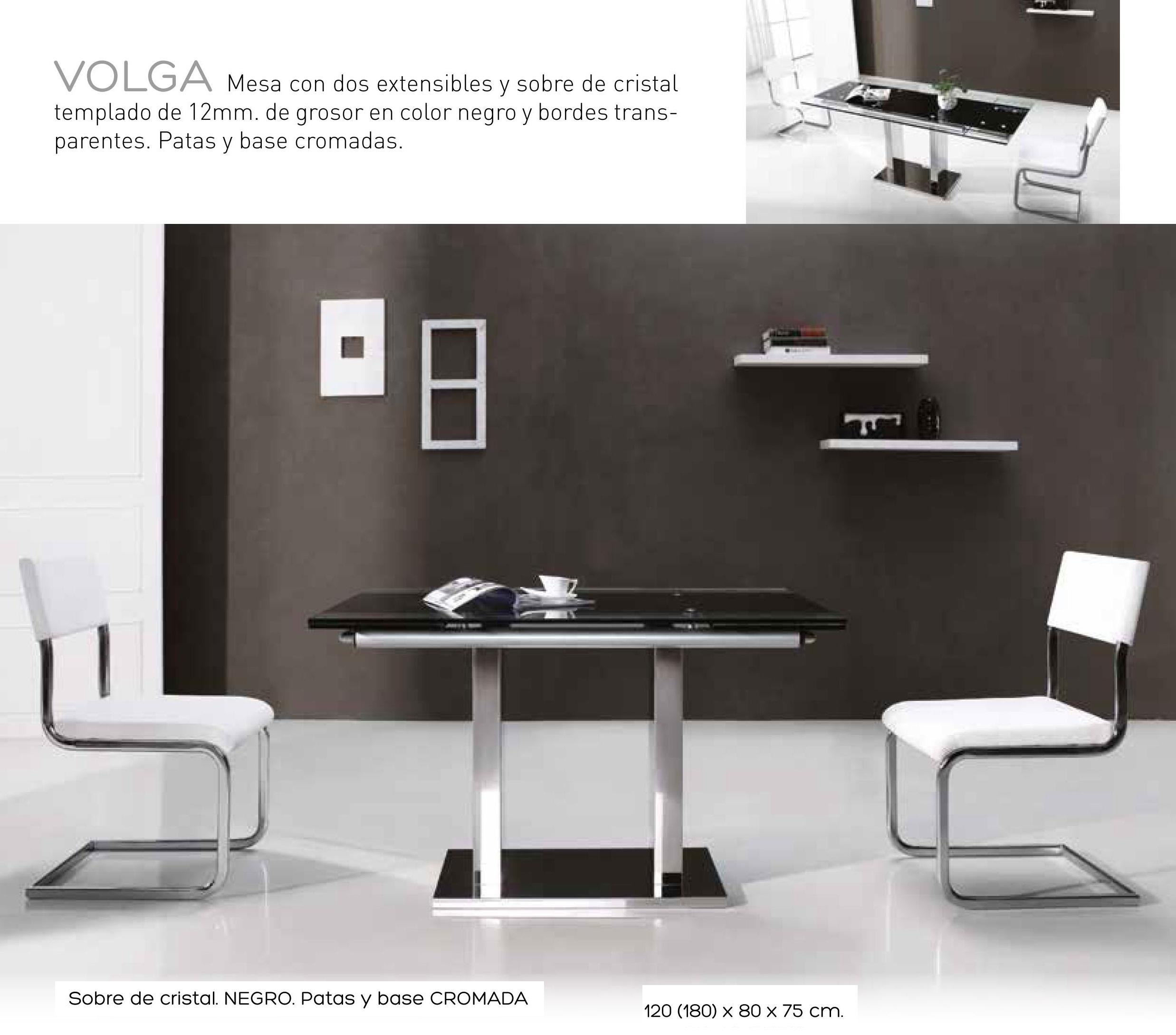 Mesa comedor met lica extensible moderna cristal 999 m7 - Mesas comedor modernas extensibles ...