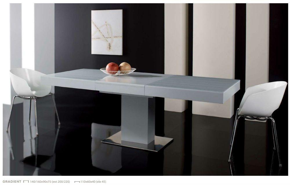Mesa comedor moderna 154 gradient mesas gran for Mesa moderna