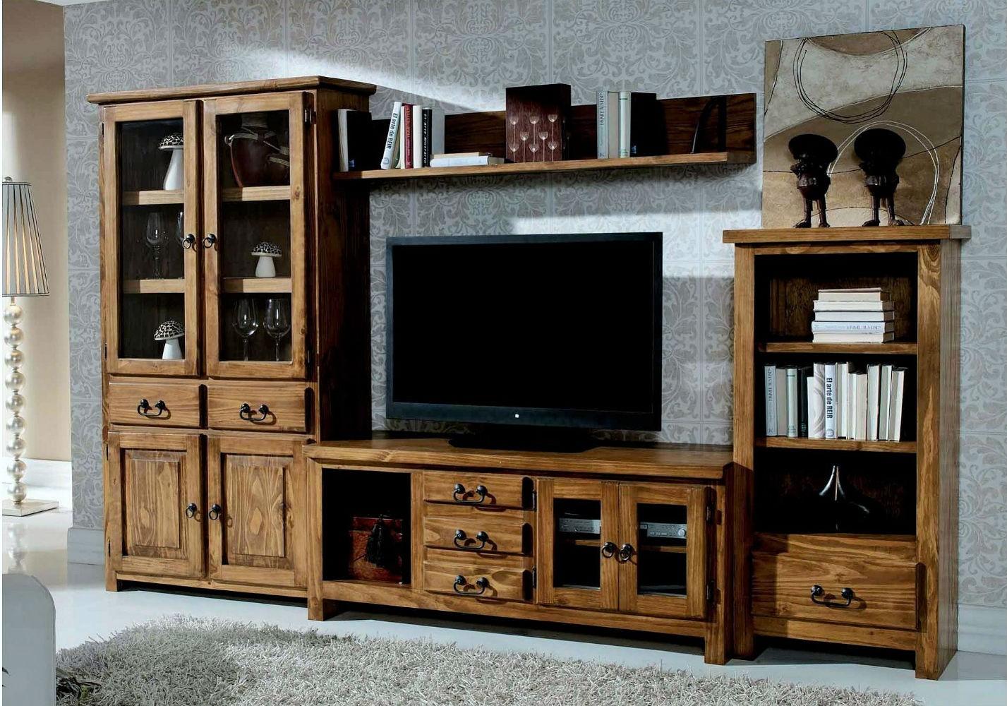Mueble comedor mexicano colonial rustico muebles valencia - Muebles de salon rustico moderno ...