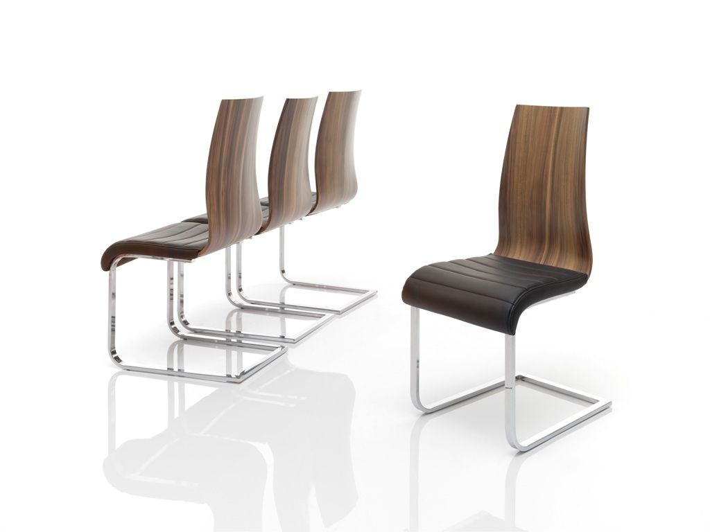 Silla moderna dise o metalica muebles valencia - Silla moderna diseno ...