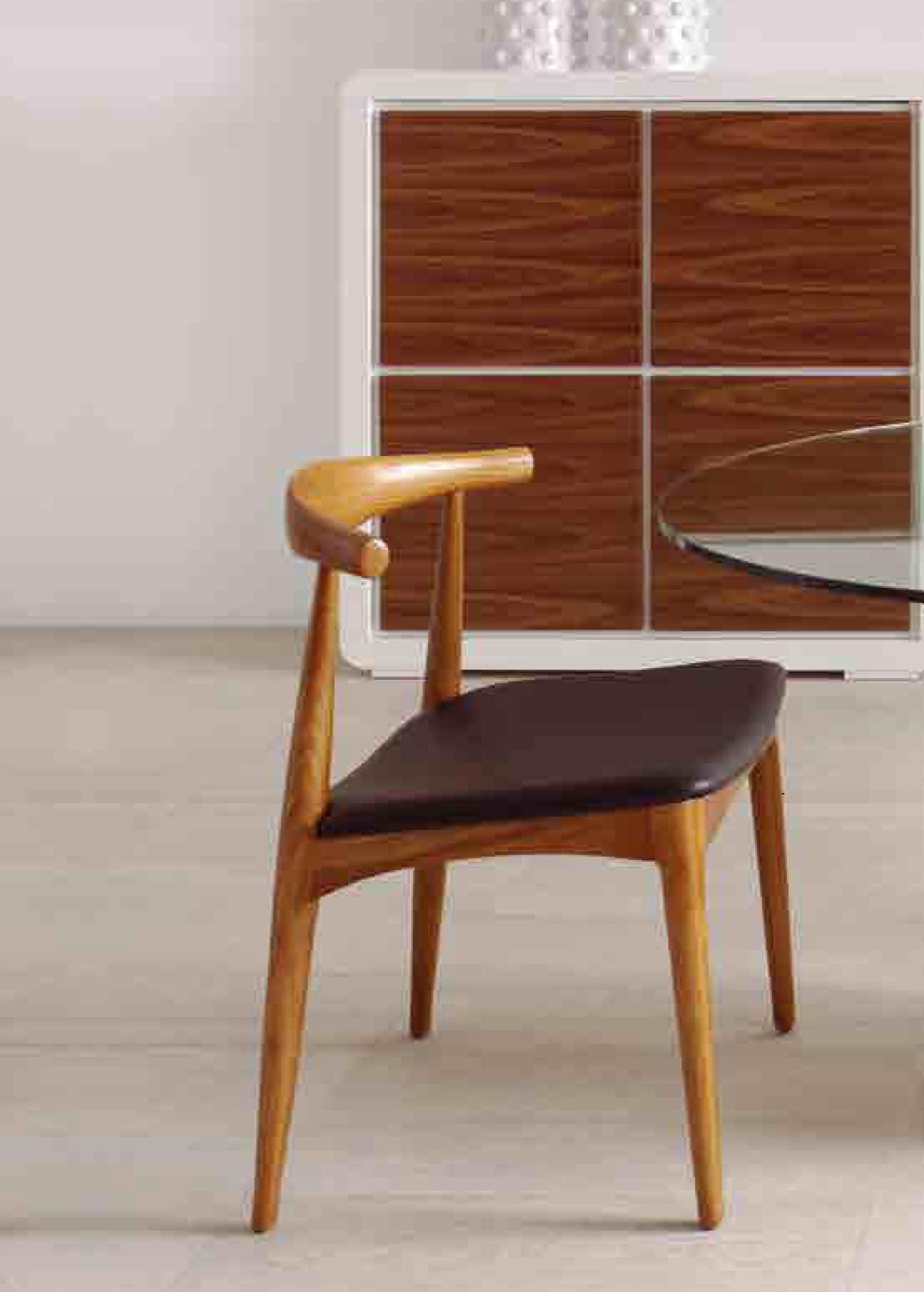 Silla moderna dise o madera muebles valencia for Sillas diseno valencia