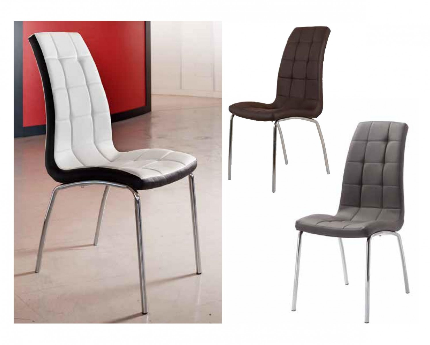 Sillas modernas de diseo beautiful combo eames sillas for Sillas italianas modernas