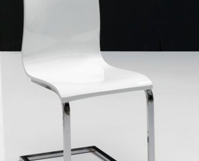 Silla comedor moderna metacrilato muebles valencia - Silla moderna diseno ...