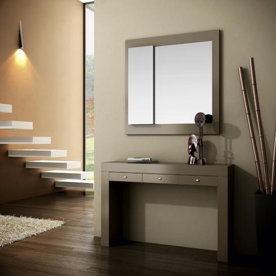 Recibidor moderno color vis n 194 340 293 mobles sedav - Estanteria recibidor ...