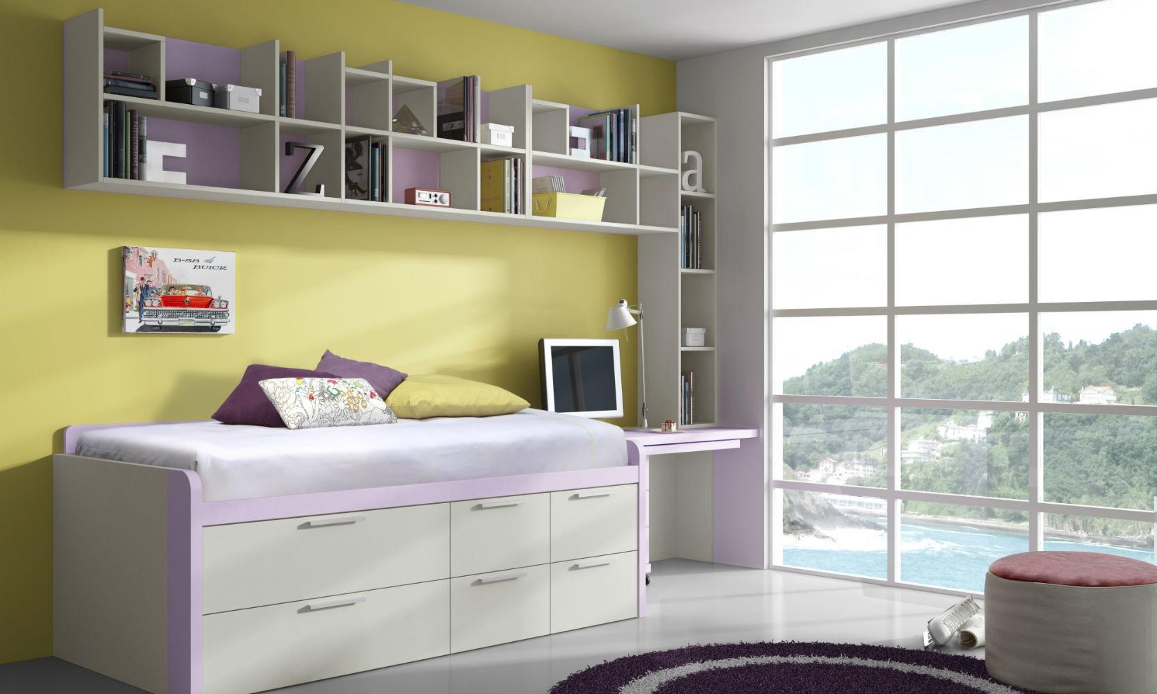 Dormitorio infantil juvenil moderno muebles valencia for Muebles valencia