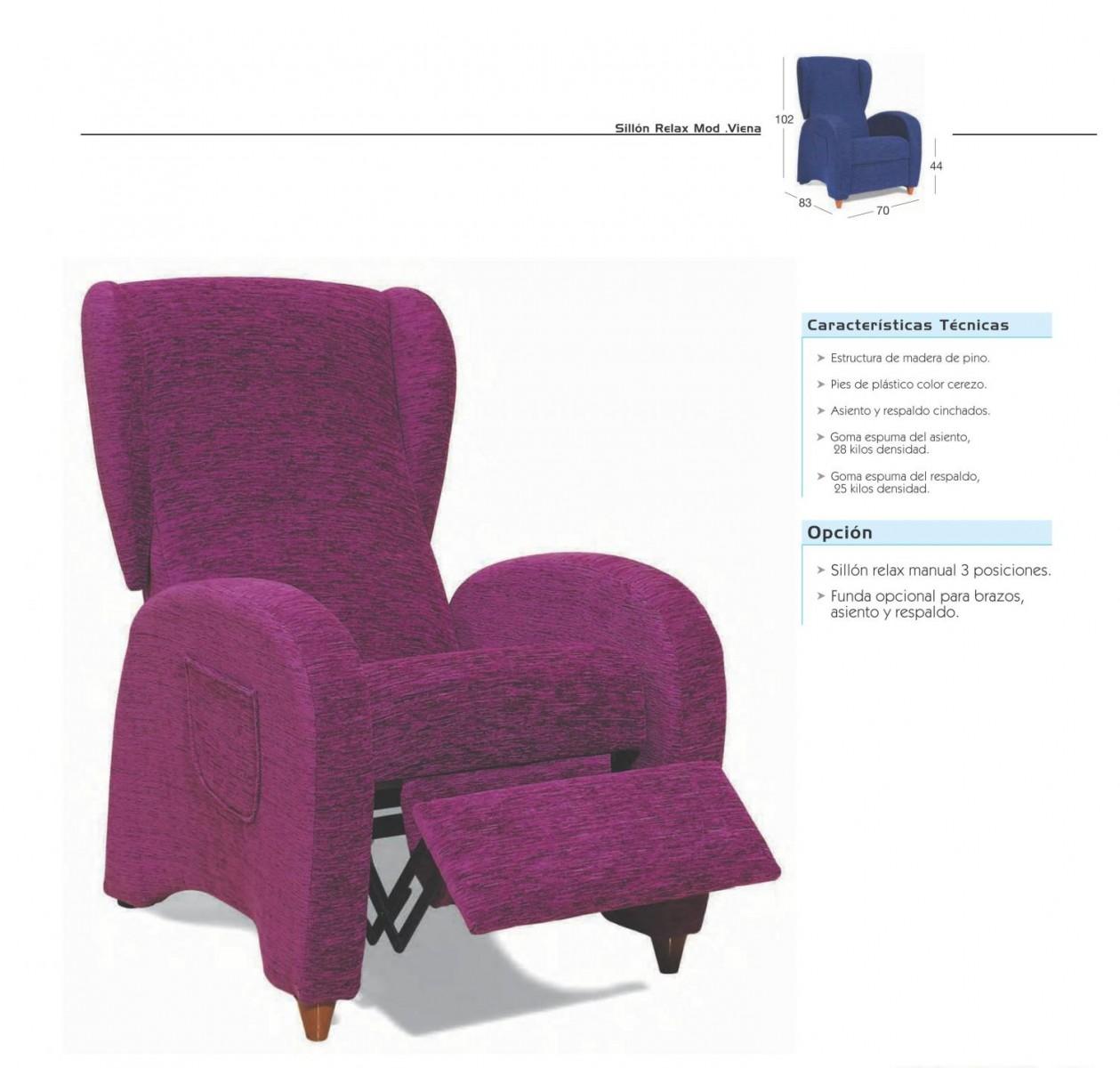 Sillon relax moderno 46 viena sofas sillones gran - Sillon relax moderno ...