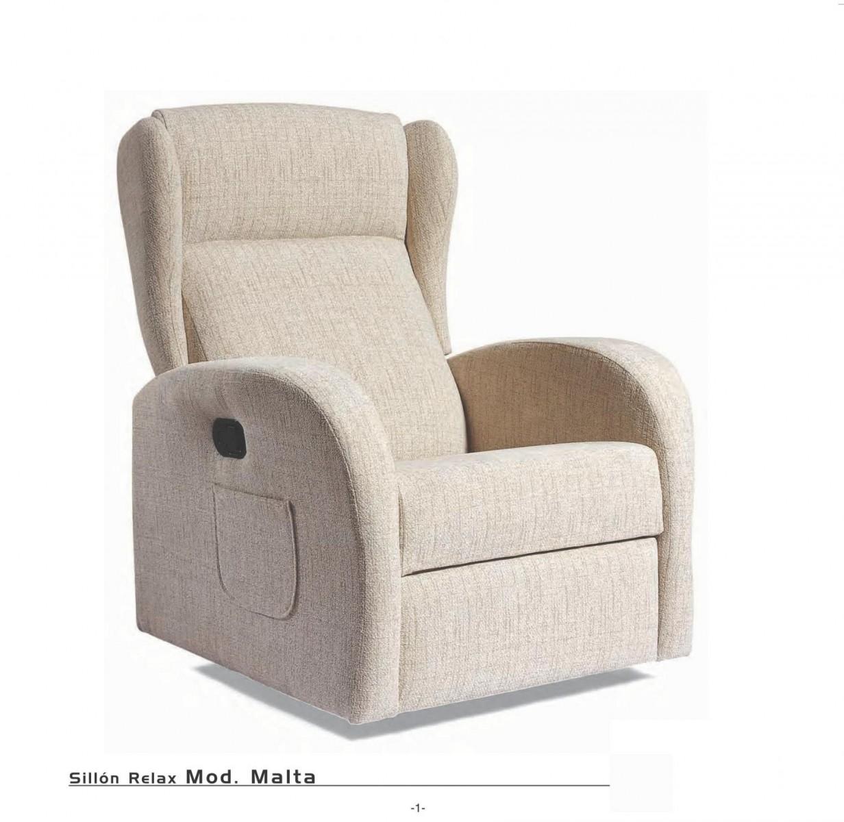 Sillon relax moderno 46 malta sofas sillones gran - Sillon relax moderno ...
