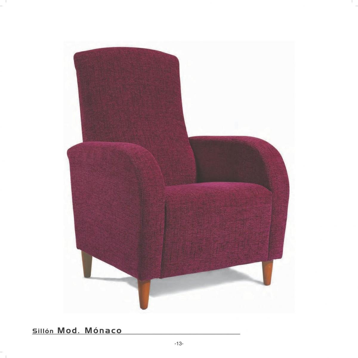 Sillon moderno fijo 46 monaco sofas sillones for Sillones y sofas modernos