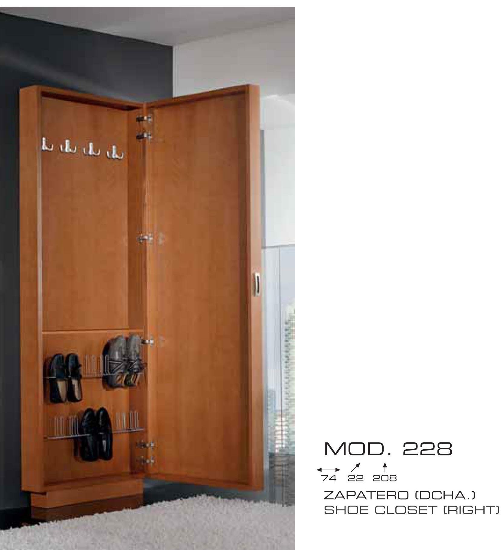 Mueble zapatero cl sico muebles valencia for Mueble zapatero madera