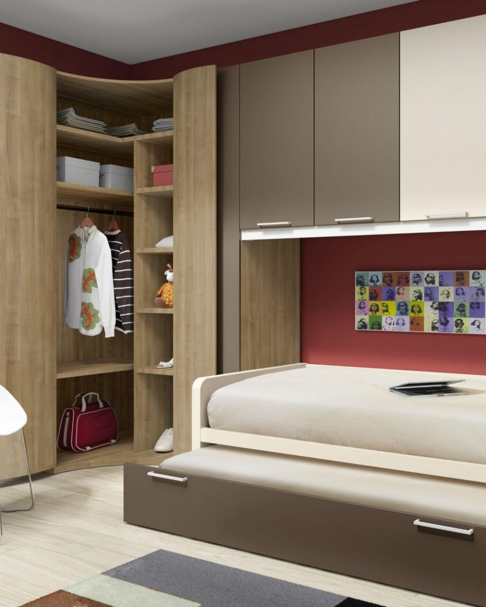 Dormitorio infantil juvenil moderno muebles valencia - Cuadros dormitorio juvenil ...