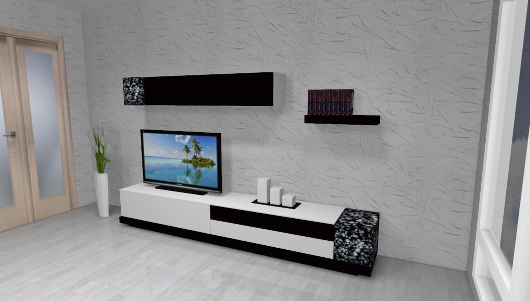 COMEDORES > Comedores modernos > Mueble comedor moderno diseño 5013