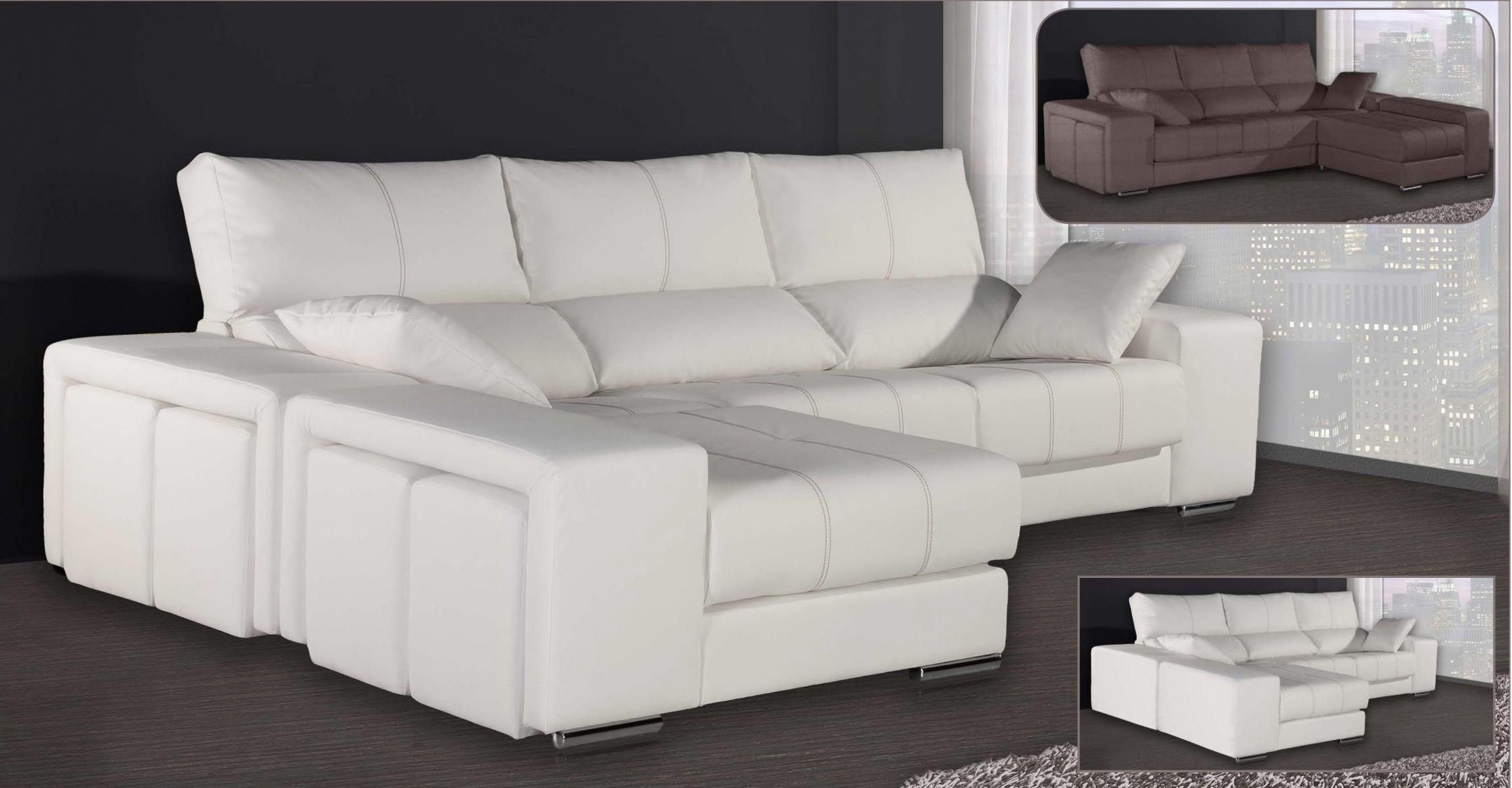 Sof s chaise longue 3 y 2 relax mobles sedavi tienda for Sillones chaise longue