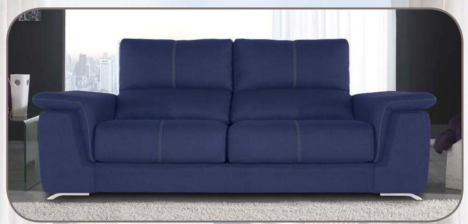 Sof s chaise longue 3 y 2 relax oferta mobles sedavi for Sofas chaise longue ofertas