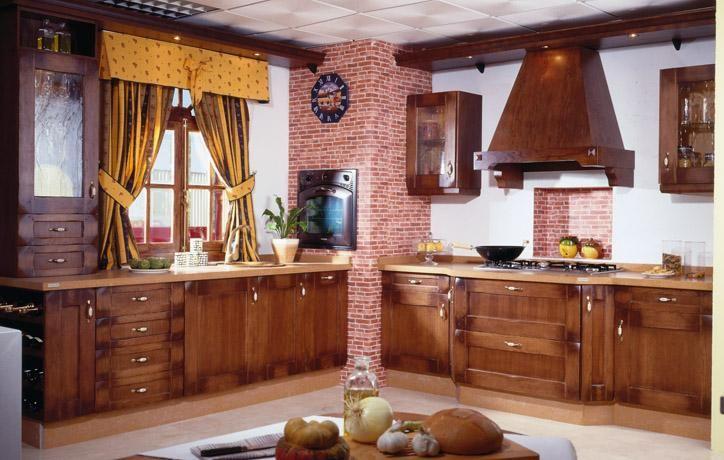 COCINAS > Cocinas RústicasClásicas
