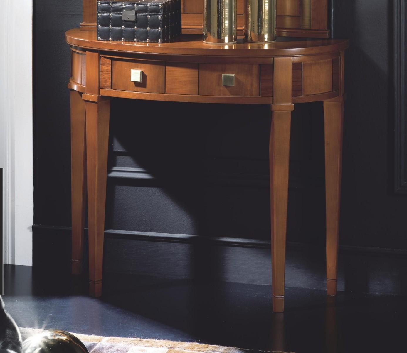 Recibidor cl sico colonial madera dise o 667 503 mobles for Mueble recibidor diseno
