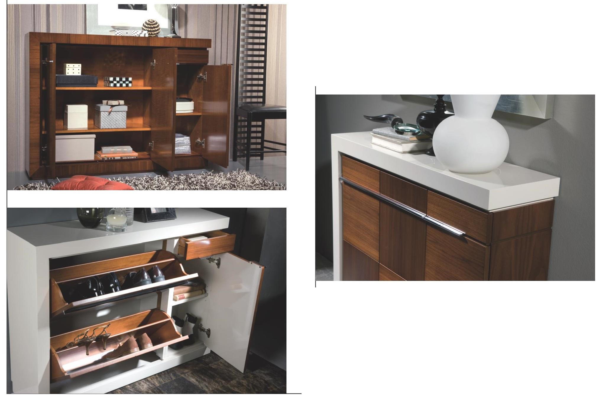 Mueble zapatero recibidor clasico colonial madera dise o for Clasicos del diseno muebles