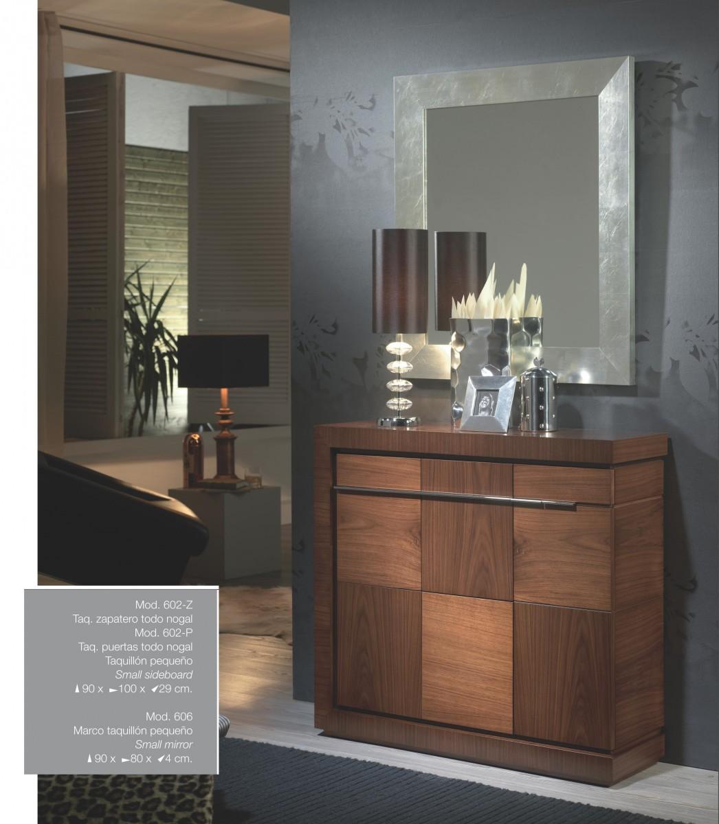 Mueble zapatero recibidor clasico colonial madera dise o 667 602 z muebles valencia - Mueble colonial valencia ...