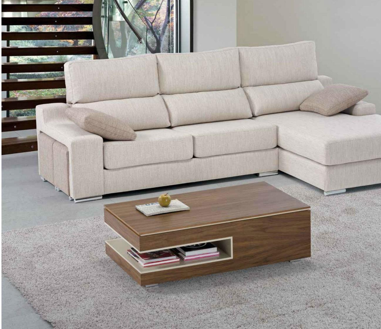 Mesa centro moderna elevable dise o muebles valencia - Mesas de madera modernas ...