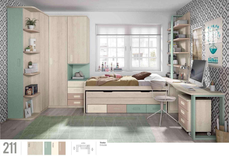 Dormitorio juvenil infantil muebles valencia for Muebles dormitorio infantil juvenil