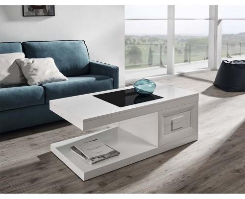 Mesas centro modernas gran variedad de dise os mobles - Mesa de centro blanca ...