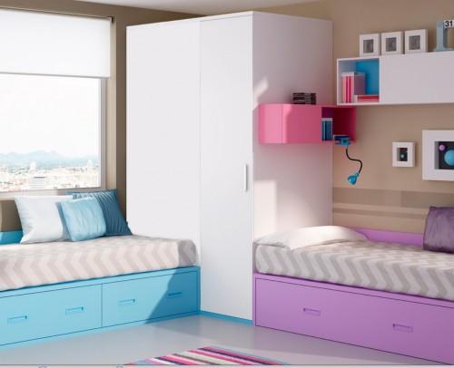 Dormitorios infantiles juveniles moderno mobles sedav - Diseno dormitorio juvenil ...
