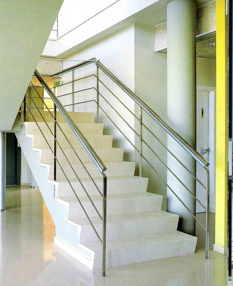 Acero inoxidable manyametal carpinteria de aluminio - Pasamanos de acero inoxidable para escaleras ...