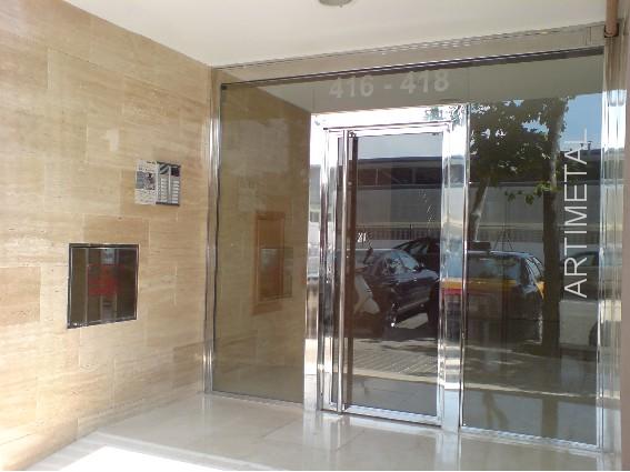 Acero inoxidable manyametal carpinteria de aluminio - Puertas acristaladas exterior ...
