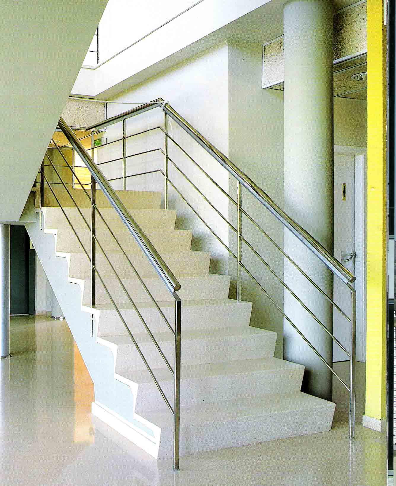Acero inoxidable manyametal carpinteria de aluminio for Barandillas de acero inoxidable y cristal