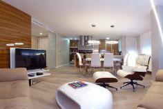 techos de pladur y mobiliario moderno