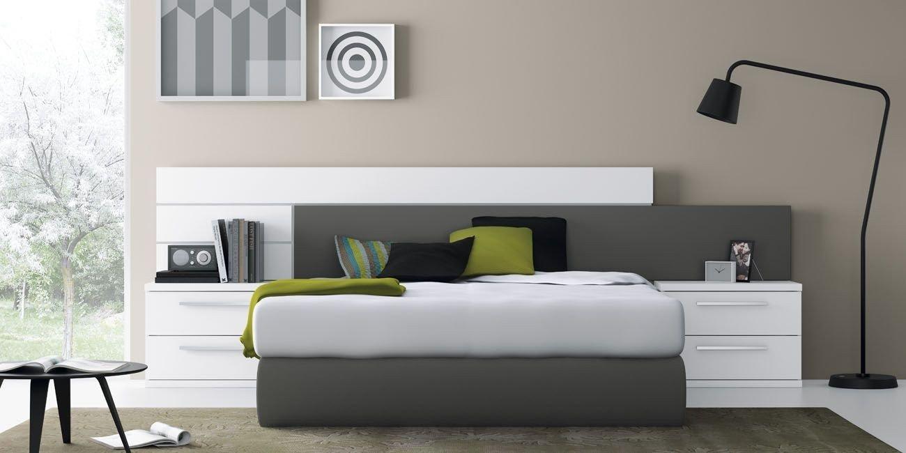 9 dormitorio moderno dormitorios muebles lino v zquez - Dormitorios blancos modernos ...
