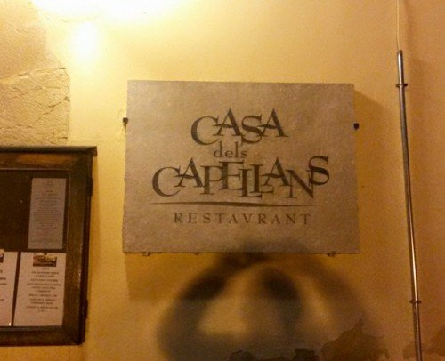 restaurante asador casadelscapellans