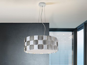Lámpara colgante 6 luces Coras de Schuller