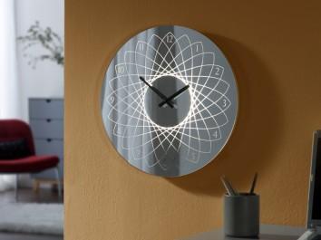 Reloj de pared con iluminación LED Lyon de Schuller