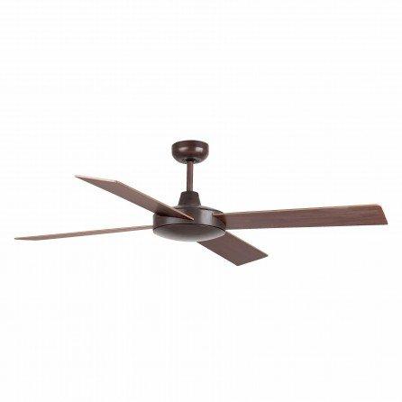 FARO MALLORCA Ventilador de techo sin luz marrón óxido 33351