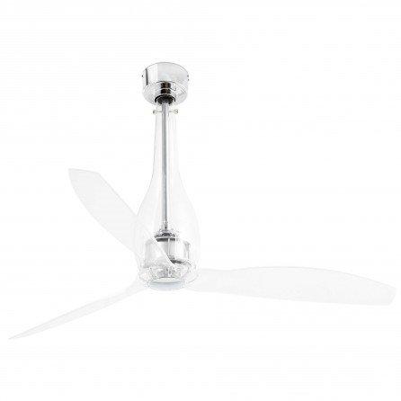 FARO ETERFAN Ventilador de techo sin luz transparente con MOTOR DC 33381