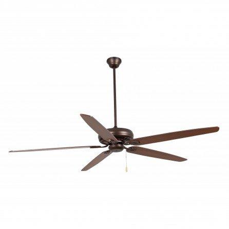 FARO NISOS Ventilador de techo sin luz marrón 33363