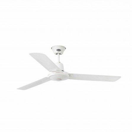 FARO ECO INDUS Ventilador de techo sin luz blanco 33005